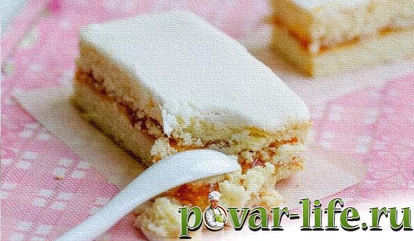 Рецепт крема бисквита торта