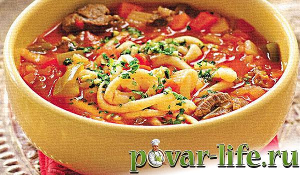 свекольник рецепт классический с мясом с фото пошагово