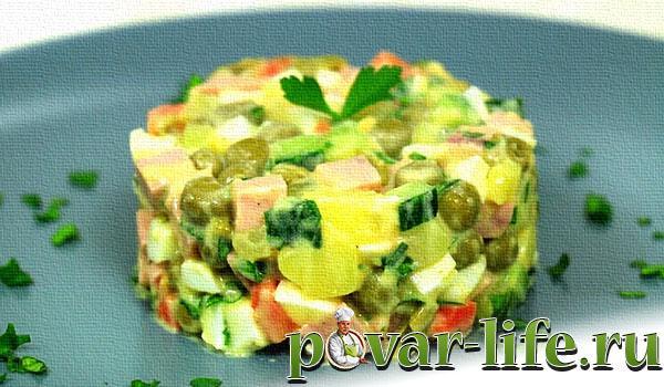 вкусный рецепт салата оливье