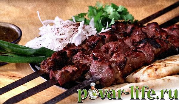 Шашлык из баранины классический рецепт