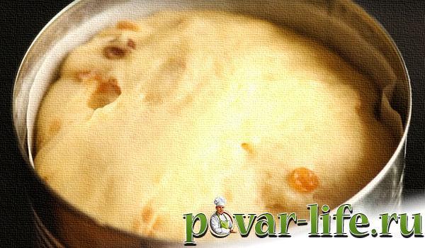 Рецепт пасхального кулича с изюмом орехами и сухофруктами