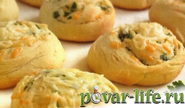 пирожки с сыром из дрожжевого теста в духовке фото рецепт