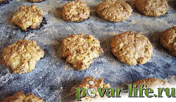 Овсяное печенье: рецепт из овсяных хлопьев