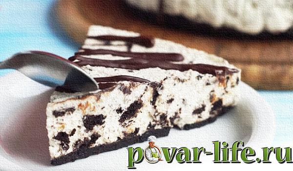"""Домашний рецепт торта из печенья """"ОРЕО"""""""