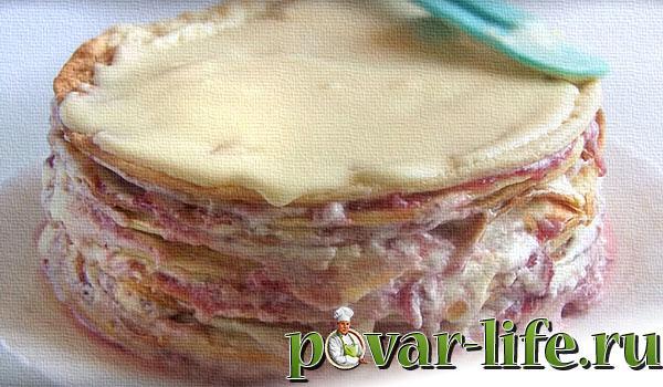 Рецепт торта «Стёпка растрёпка» с фото