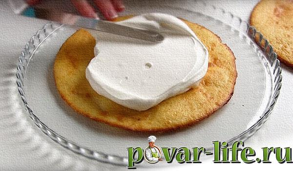 "Рецепт торта ""Молочная девочка"" с пломбиром"