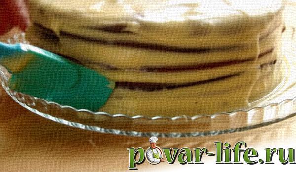 Рецепт торта «Спартак» в домашних условиях