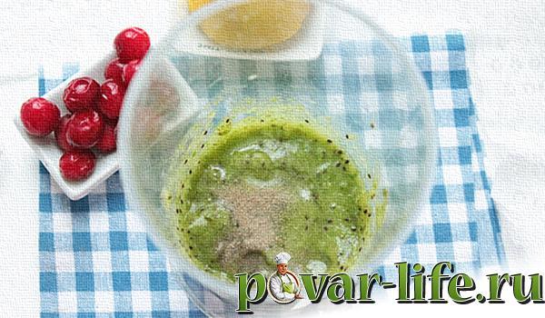 Рецепт кисло-сладкого соуса из киви