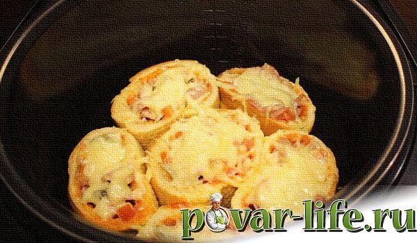 Рецепт мини-пиццы в мультиварке