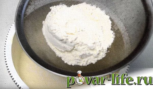 Рецепт пирожного «Буше»