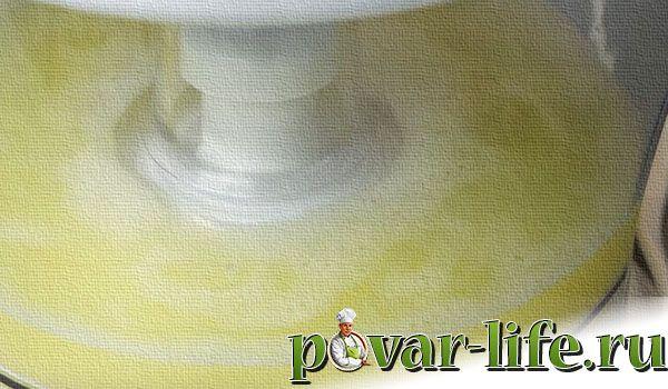 Рецепт лимонного крема для торта