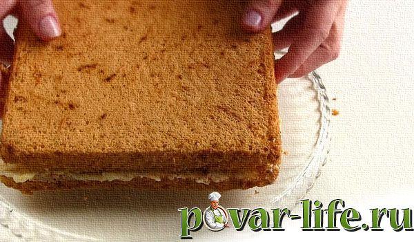 «Подарочный» торт по госту дома