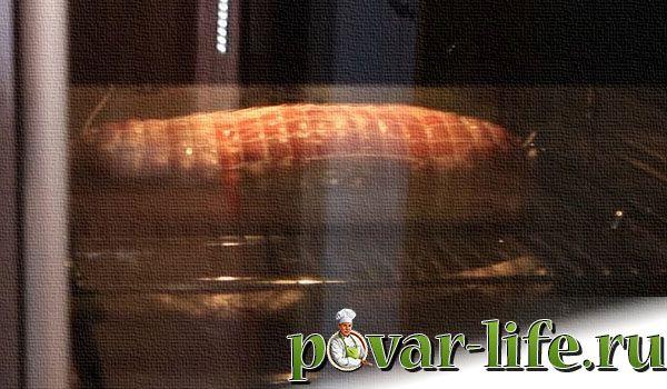 Классический рецепт куриного рулета