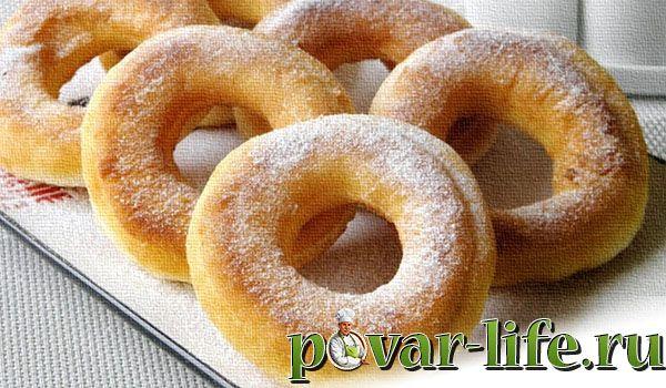 Лёгкий рецепт приготовления пончиков
