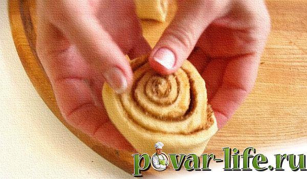 Рецепт булочек с корицей из дрожжевого теста