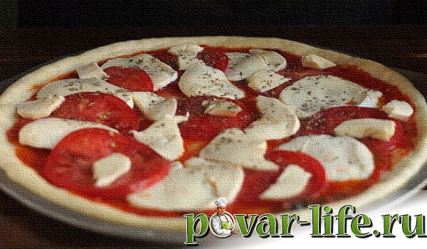 Пицца «Маргарита» в домашних условиях