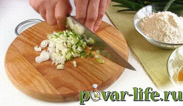 Рецепт котлет из зелёного лука