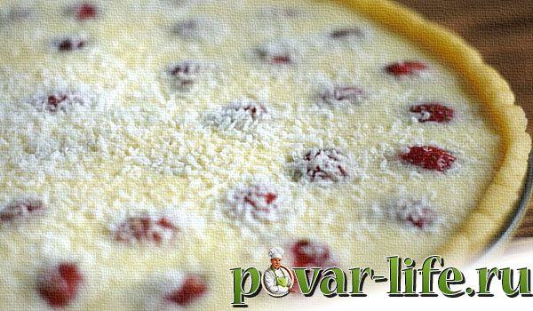 Рецепт сочного клубничного пирога