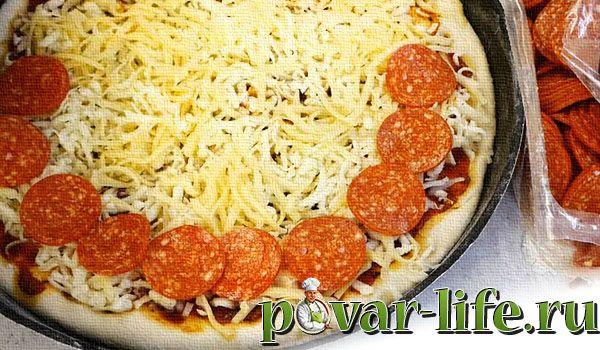 Пицца «Пепперони» в домашних условиях