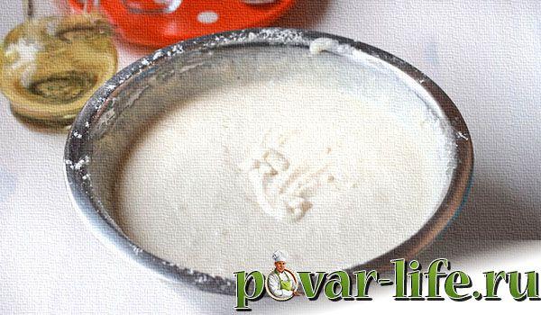 Рецепт пышных оладий на кефире без яиц