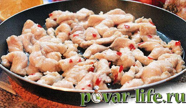 Рецепт «Фахитос» с курицей
