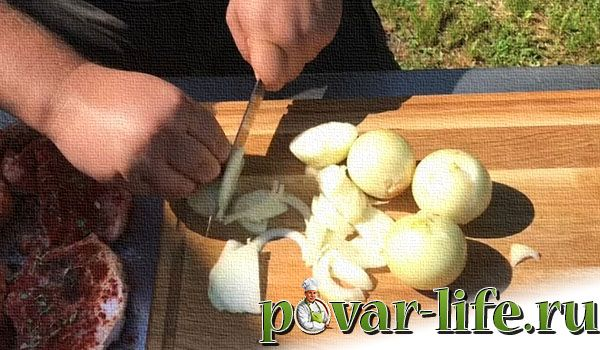 Рецепт армянского шашлыка из свинины