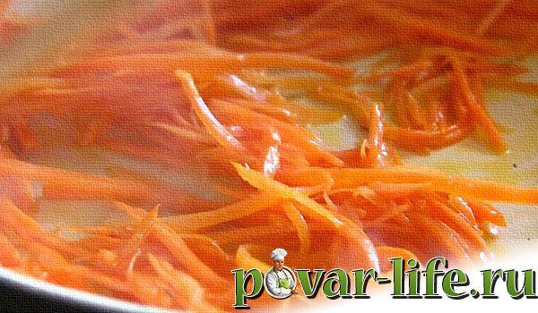 Рецепт салата «Корейский кабачок»
