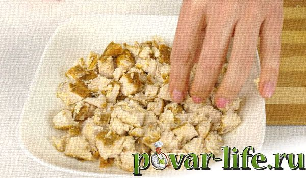 Рецепт салата «Тиффани» с курицей