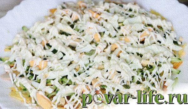 Классический рецепт салата «Диёр»