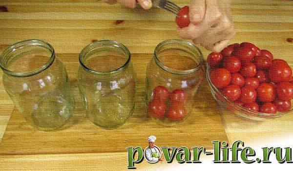 Рецепт сладких маринованных помидоров на зиму