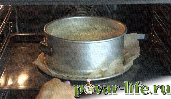 Рецепт творожного пирога с крошкой