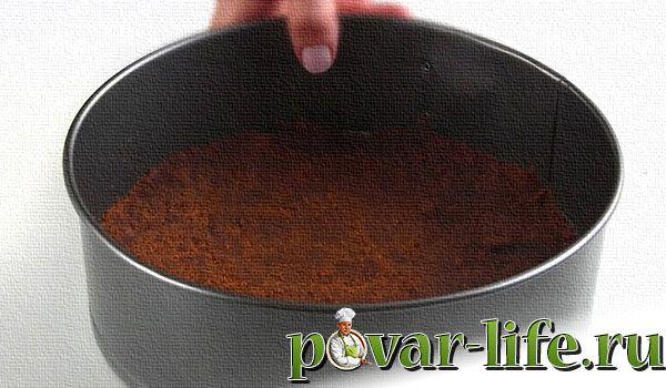 рецепт торта без выпечки с печеньем и творогом