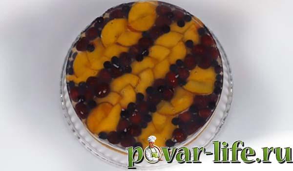 Рецепт «Тирольского» пирога с ягодами