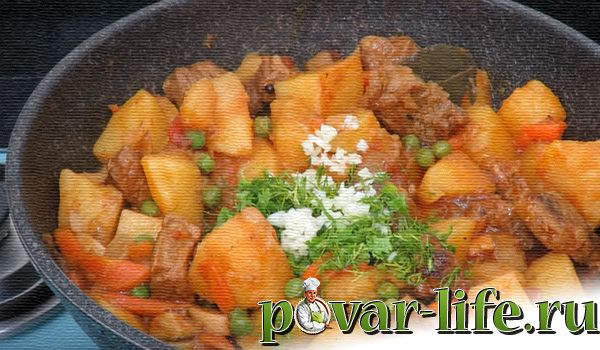 Рецепт вкусного жаркое с мясом