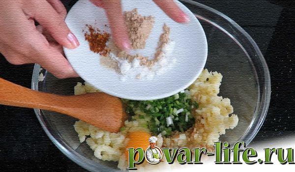 Превосходные картофельные крокеты с начинкой