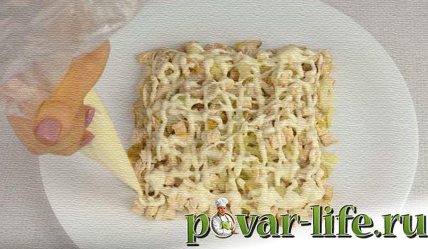 "Рецепт праздничного салата ""Подарок"""