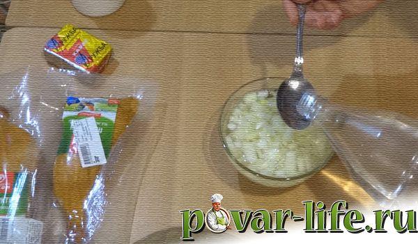 """Рецепт праздничного салата """"Невеста"""""""