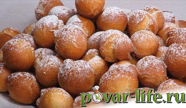 Рецепт пышных пончиков на сгущёнке