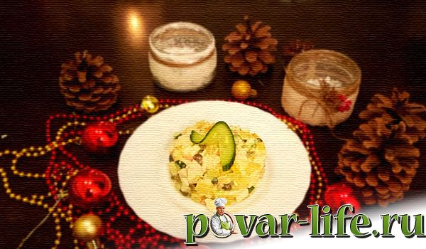 4 блюда на Новогодний стол