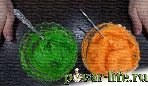 Шикарный морковный торт с кремом