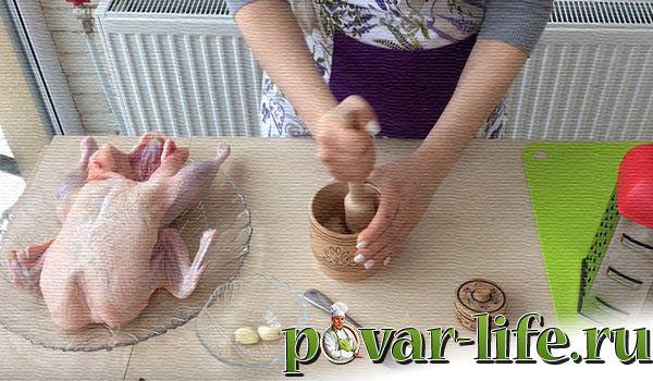 Рецепт фаршированной утки в духовке