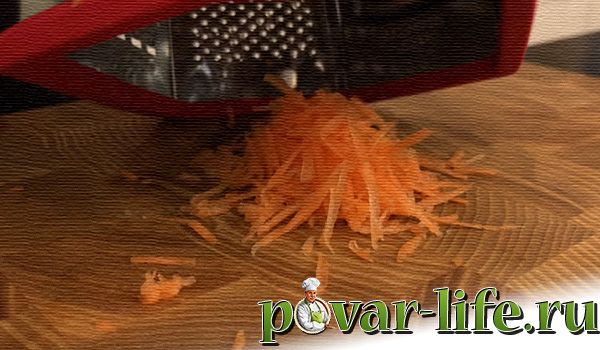 Морковный торт с кремом в домашних условиях