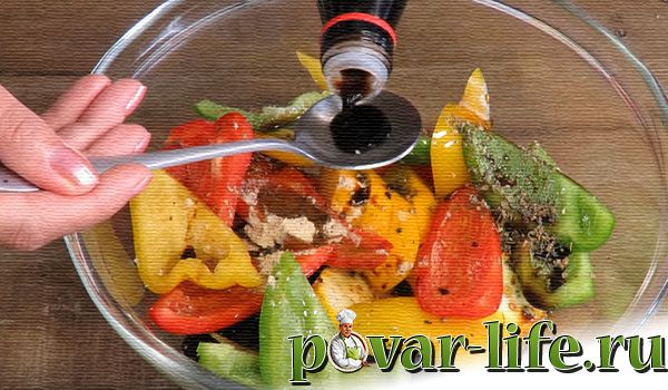 Овощи-гриль на сковороде дома