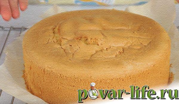 Классический рецепт бисквита для торта