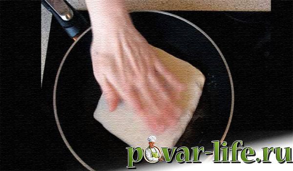 Китайские лепёшки с мясом