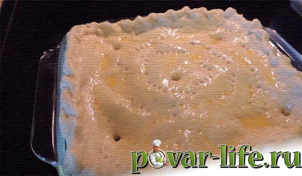 Вкусный пирог с сёмгой