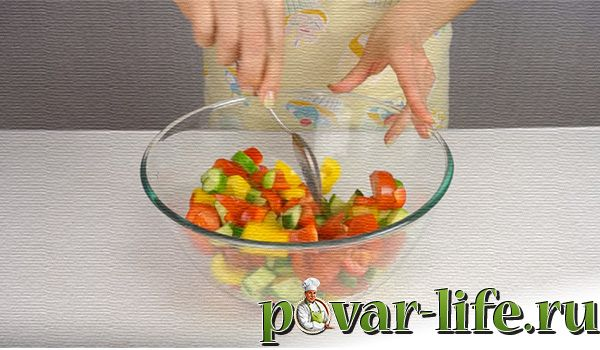"""Классический рецепт салата """"Греческий"""""""