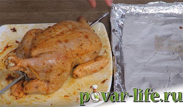 Рецепт сочной курицы-гриль в духовке