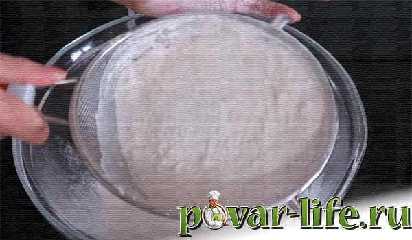 Слоёный мясной пирог в духовке