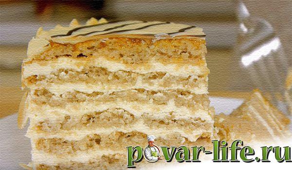"""Рецепт знаменитого торта """"Эстерхази"""""""